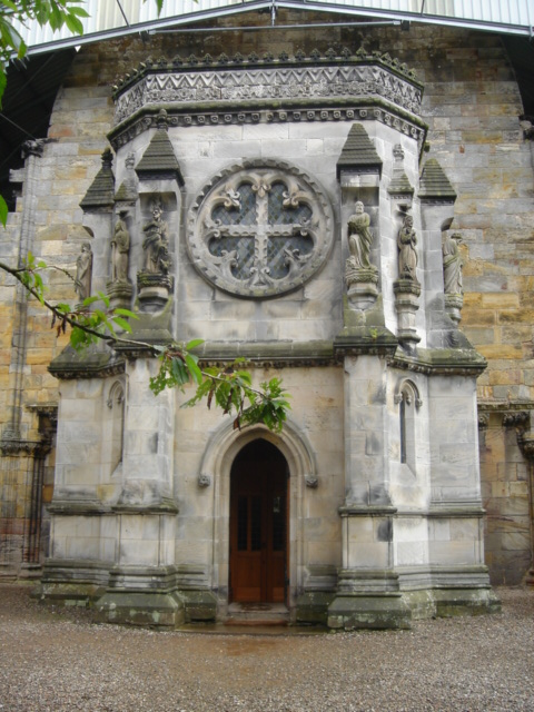 Rosslyn Chapel entrance
