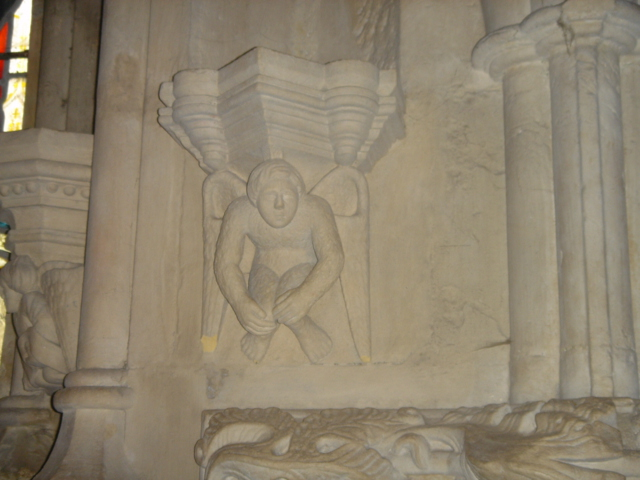 Masonic carving, Rosslyn Chapel